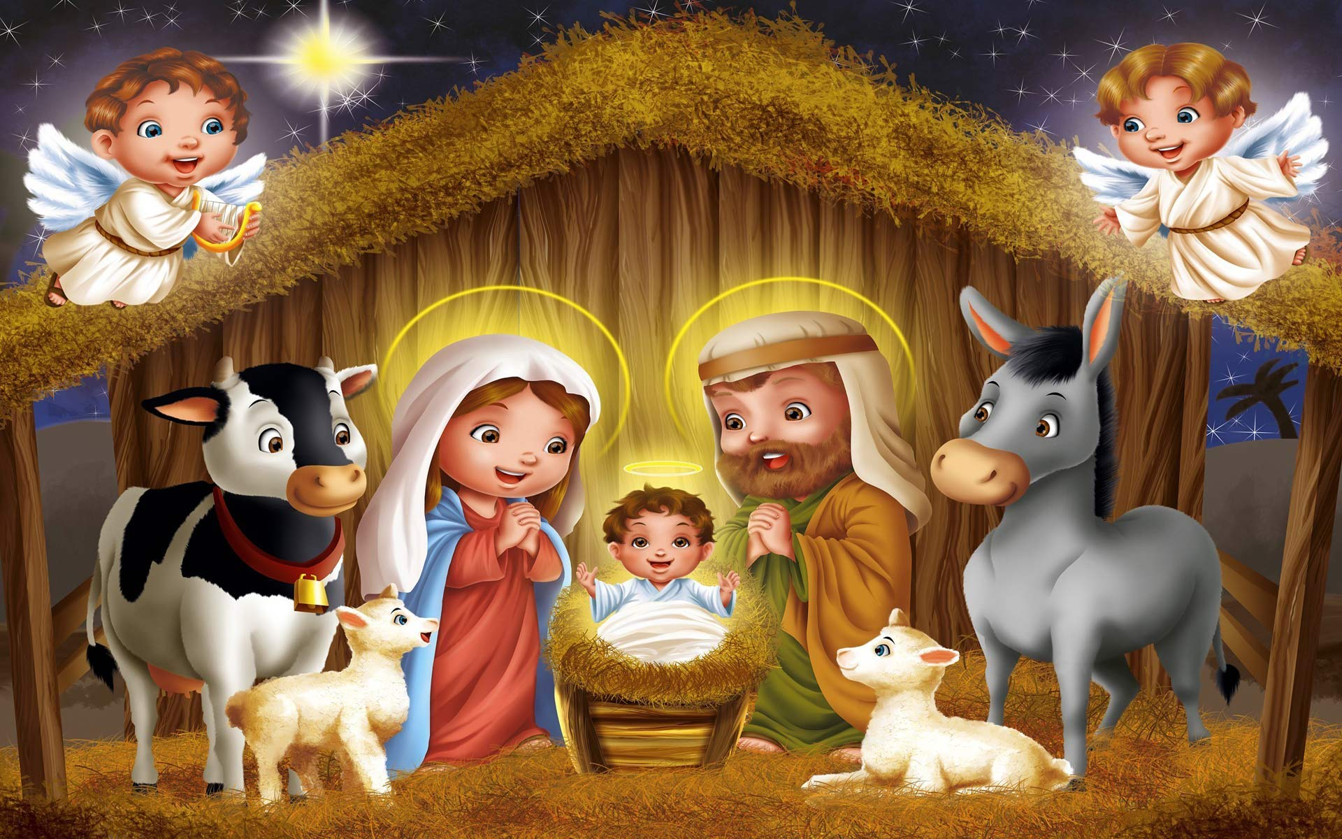 28 Oct How To Easily Make A Christmas Crib